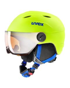 UVEX Junior Visor Pro Ski Helmet - Neon Yellow