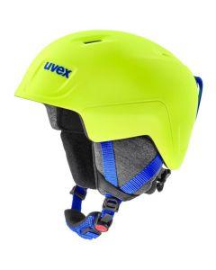 UVEX Junior Manic Pro Ski Helmet - Neon Yellow