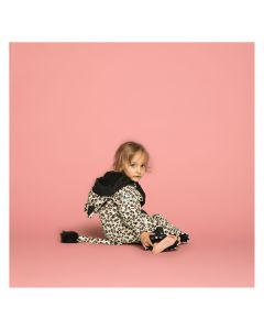 Weedo Leopard Snow Suit Black - save 25%