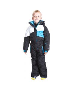 Trespass Wiper Kids Ski Suit, Black