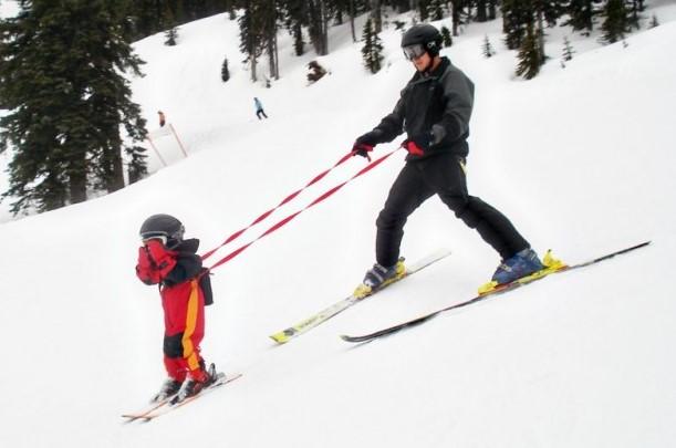 Teach Your Child to Ski