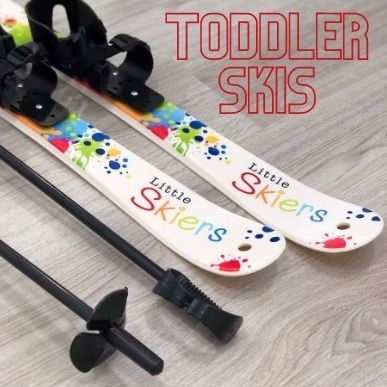 plastic toddler skis