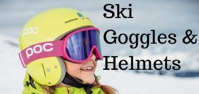 Ski Goggles and Ski Helmets at Little SKiers