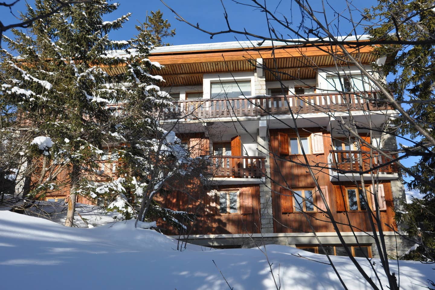 courchevel ski chalet